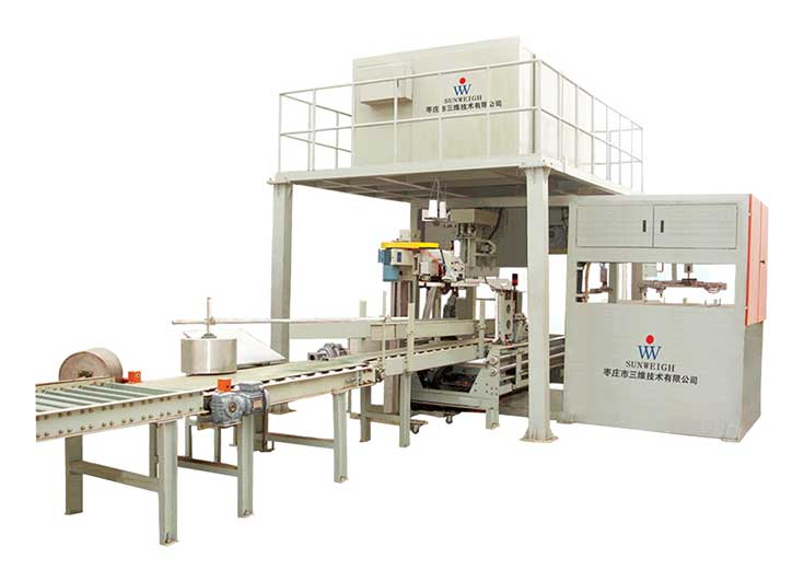 Fully automatic bag-feeding packaging machine