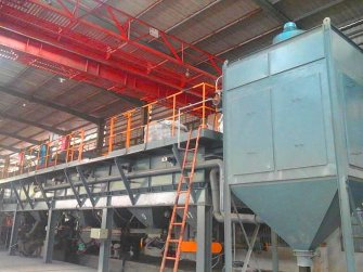 Fujian Refractories Unshaped Ingredients and Mixed Packaging Production Line