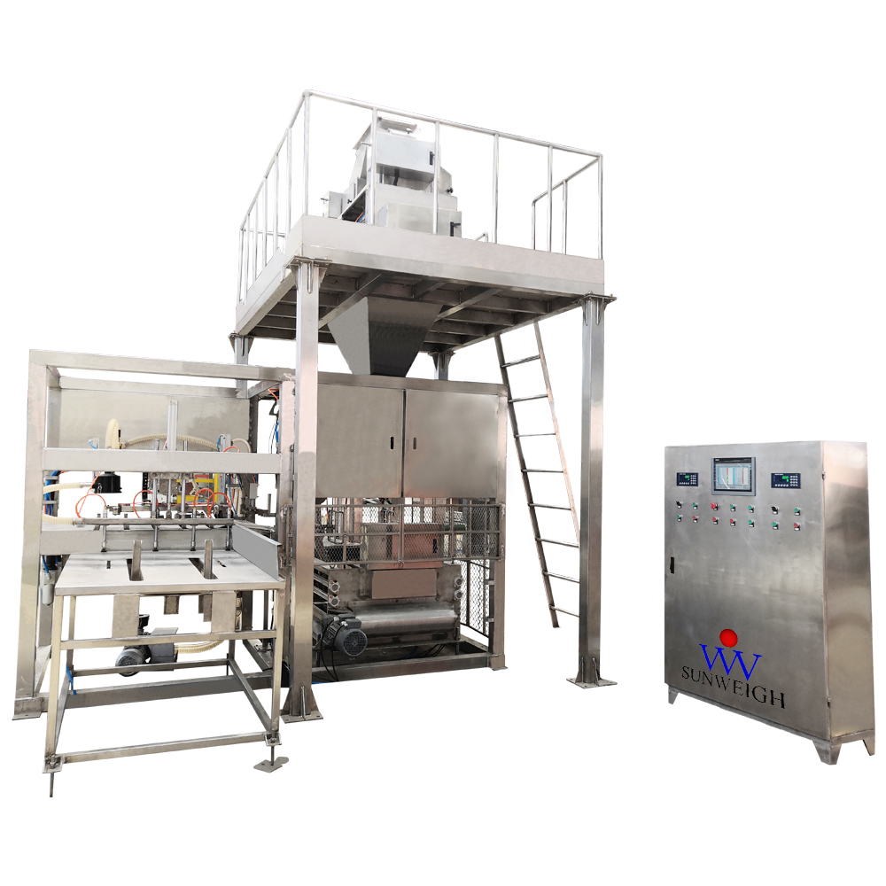 Full - automatic packaging machine for organic fertilizer